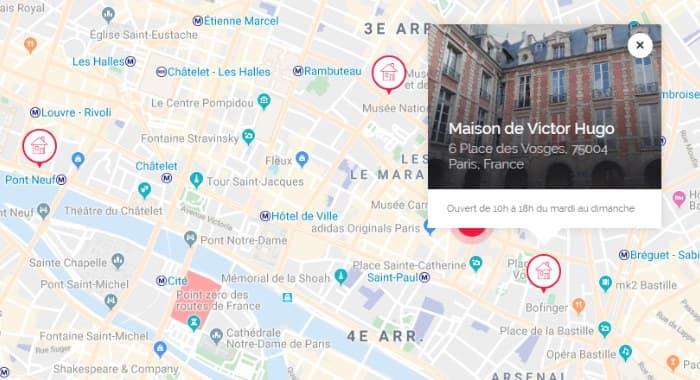 Web2Store Maps